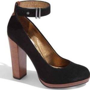Sam Eldman 'Lyla' Ankle Strap Stiletto Heel Pump
